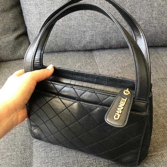 CHANEL Handbags - Authentic Chanel small tote 👜